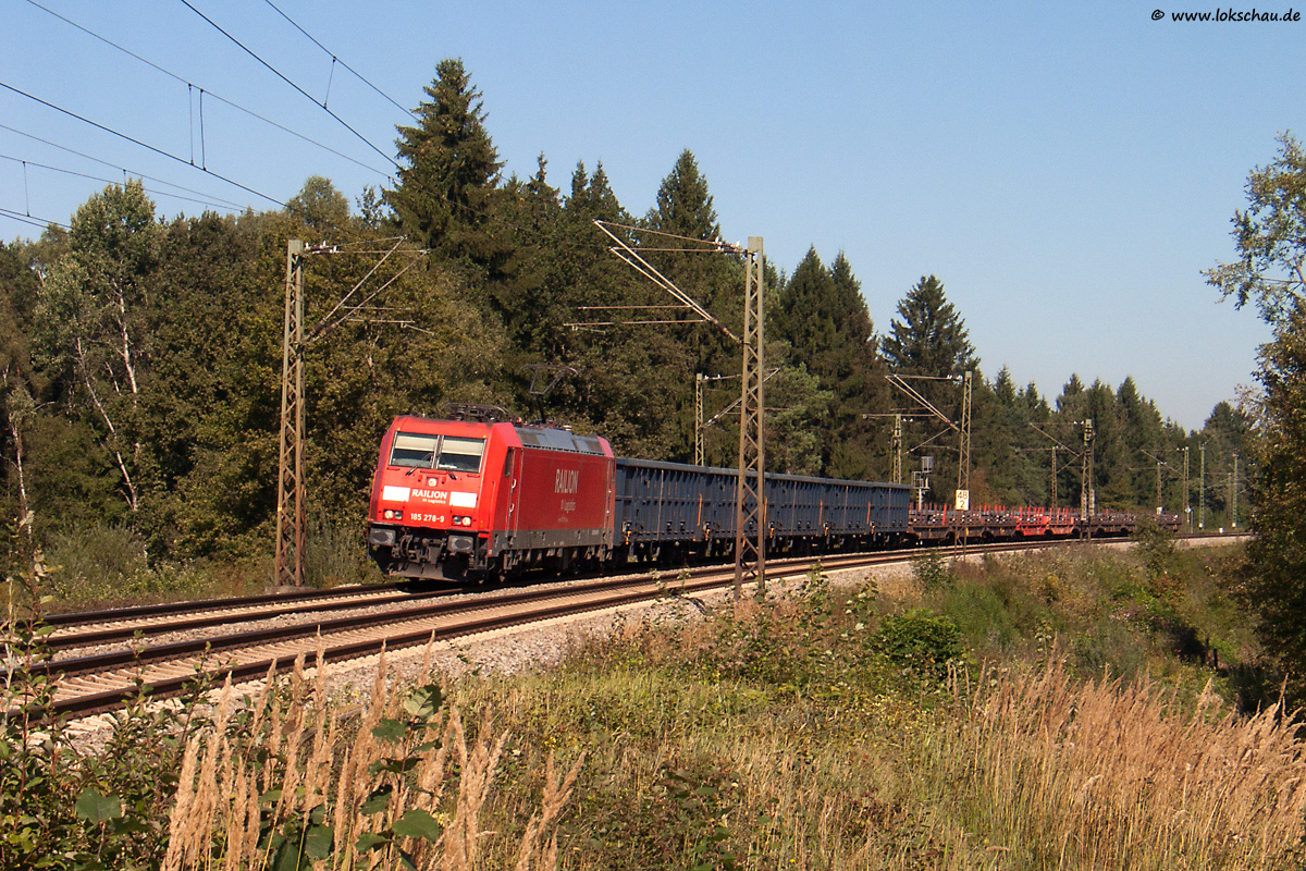 Strecke München Rosenheim