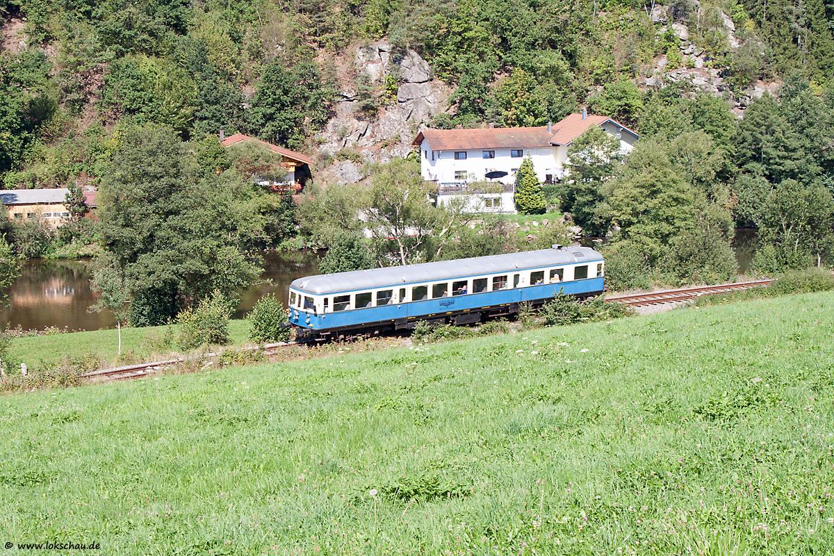 Schnitzmühle Viechtach wanderbahn